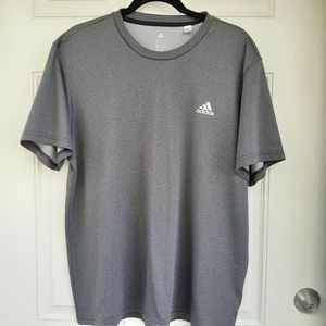 Adidas Gray Climate Control T-Shirt Size X-Large